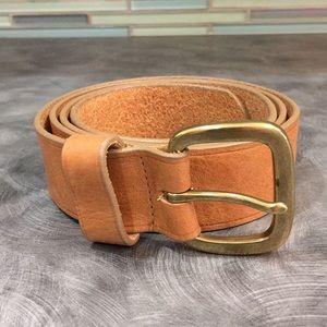Ann Taylor Leather Belt Size S/M